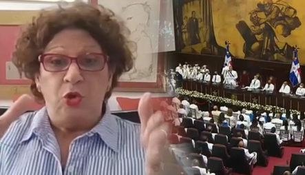 """Consuelo Despradel: """"Esos Que Estaban Aplaudiendo Fueron Los Que Enfermaron Al Pueblo"""""""