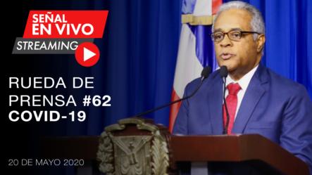 Live.: Rueda De Prensa Del Ministerio De Salud Sobre El COVID-19 #Coronavirus