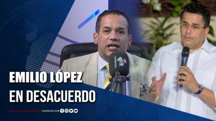 Emilio López No Está De Acuerdo Con Gestión De David Collado