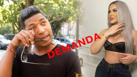 ¡Se Armó! Alexandra MVP Le Manda La Cita Judicial A Ronny Jimenez