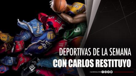 Noticias Deportivas De La Semana Con Carlos Restituyo