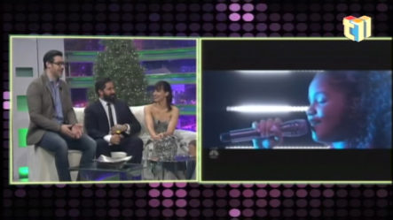 Nashla Bogaert Y Tuto Guerrero Dando Más Detalles Sobre Dominicana's Got Talent En Chévere Nights