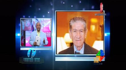 Falleció El Veterano Periodista Domingo Saint Hilaire En Santiago