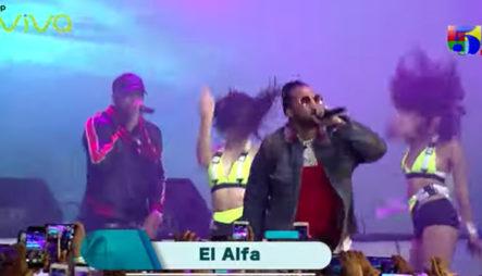 El Alfa El Jefe En Vivo En La Fiesta Telemicro 2019