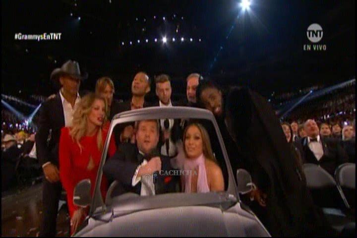 James Corden Llevó Su Carpool Karaoke A Los Grammys Y Fue Lo Mejor De La Noche
