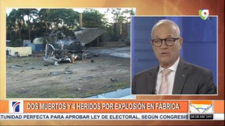Dos Muertos Y 4 Heridos Por Explosión En Fábrica