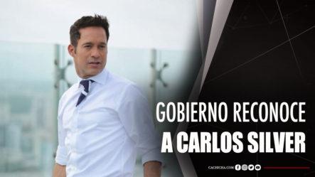 Gobierno Reconoce  A Carlos Silver Por Su Hazaña