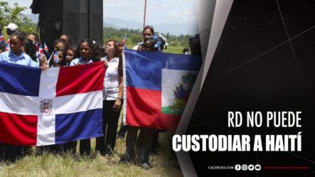 """Dahia Sena: """"RD No Puede Custodiar A Haití"""""""