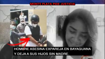 Hombre Asesina Ex Pareja En Bayaguana Y Deja A Sus Hijos Sin Madre