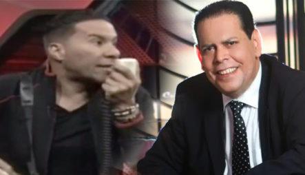 Cristian Casablanca Declara Persona No Grata En La Protesta A Fernando Villalona Y Lo Llama Botella
