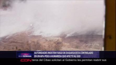 Autoridades Dicen Que Esta Casi Controlado El Incendio En El Vertedero De Duquesa