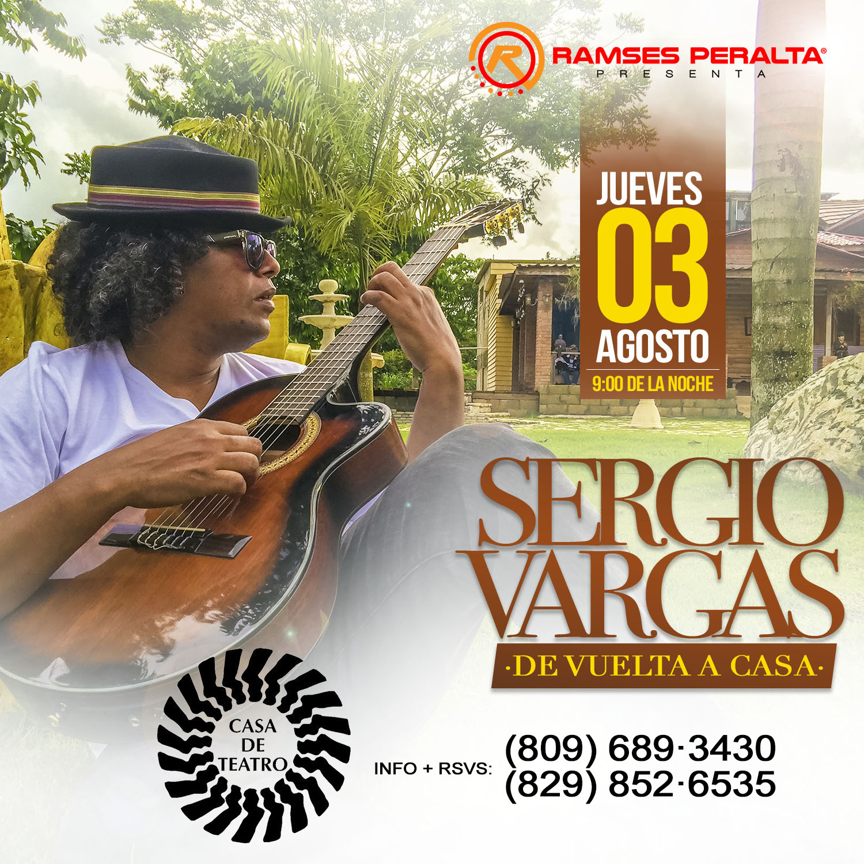 Sergio Vargas De Vuelta A Casa De Teatro