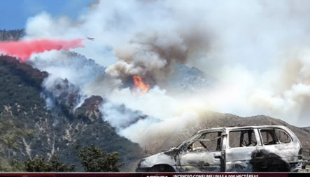 Destrucción Y Miles De Evacuados Por Fuerte Incendio En California