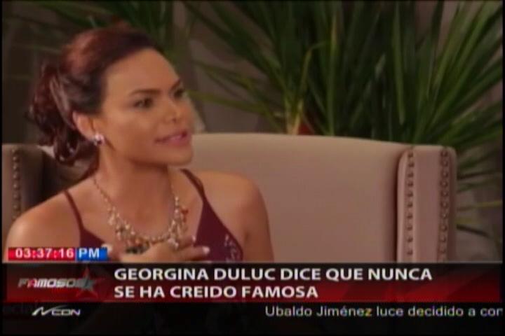 Georgina Duluc Debuta Como Cantante En Programa De TV Dominicano #Video