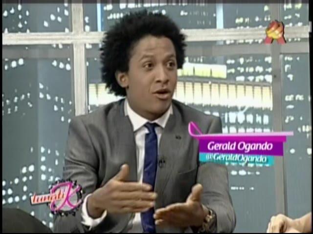 """Gerald Ogando En Entrevista Con Karina Larrauri En """"LunatiK"""" #Video"""