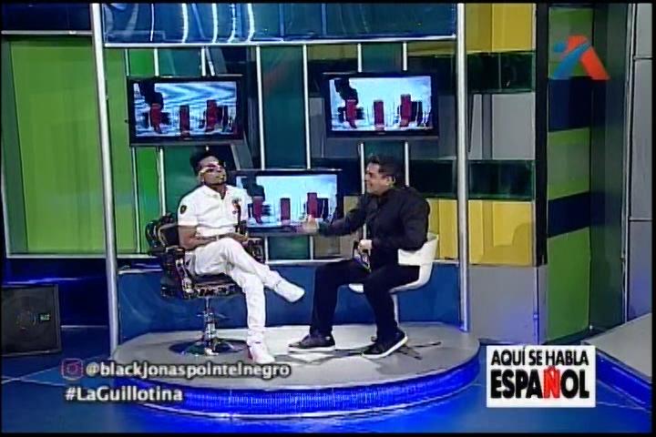 Conversando Con Black Jonas Point Y Daniel Sarcos En La Guillotina De Aquí Se Habla Español