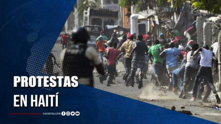 Protestas En Haití: Un Muerto Y Un Herido