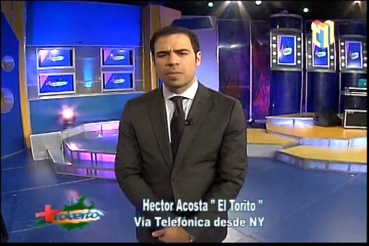 """Llamada De Hector Acosta """"El Torito"""" En Más Roberto Con Las Expectativas De Su Concierto En Carnegie Hall"""