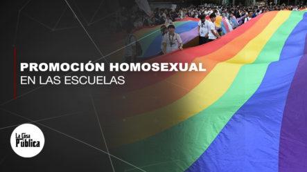 Graymer Mendez En Contra De Que Se Promueva La Homosexualidad En Las Niñez Mucho Menos En Las Escuelas
