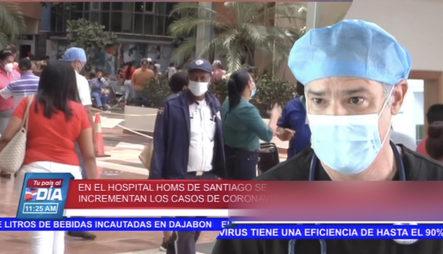 Se Incrementan Los Casos De Ingresos Con Coronavirus En Santiago