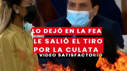 Chica Humilla Al Senador De La Romana