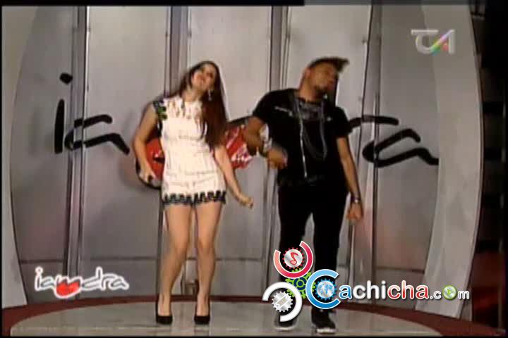 Iamdra Hace El Baile De La Chapiadora