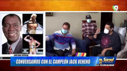 Entrevista Exclusiva Con La Leyenda Viva Jack Veneno En El Show Del Mediodía