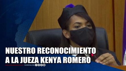 CASO CORAL: Nuestro Reconocimiento A La Jueza Kenya Romero   Tu Tarde