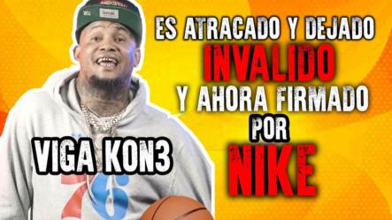 Es Atracado Y Dejado Invalido Y Ahora Firmado Por Nike | Increíble Historia