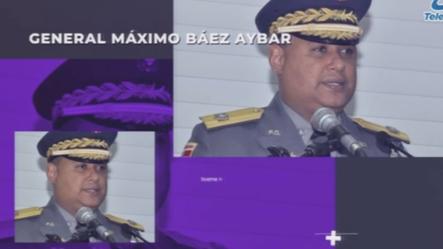 En Entrevista El General Máximo Báez Aybar Habla De Como Se Comportará La PN En   Buena Noche