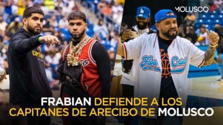 FRABIAN En Entrevista Defiende A Los Capitanes Por El ABUCHEO A Molusco En El Choli