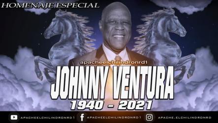 """HOMENAJE ESPECIAL Johnny Ventura, """"El Caballo Mayor"""""""