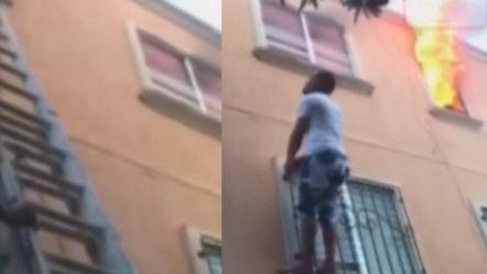 Niño Casi Pierde La Vida En Incendio; Impactantes Imágenes | Pégate Y Gana Con El Pachá