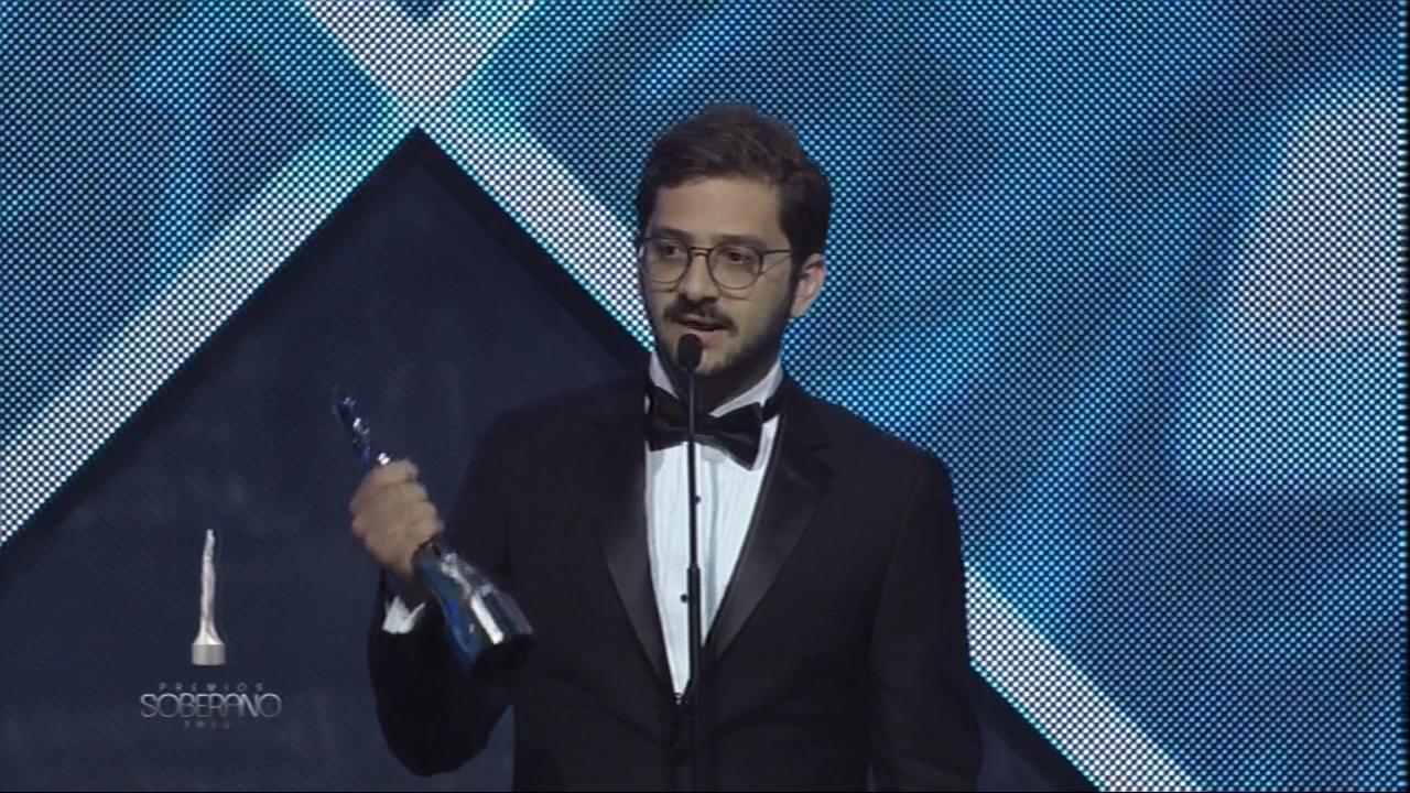 José María Cabral Gana A Mejor Director De Cine En Los Soberano 2018