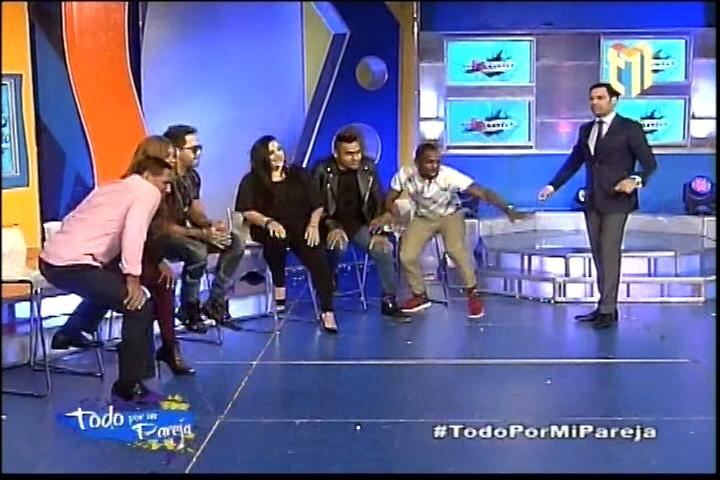 """Jugando Con Los Más Famosos En """"Todo Por Mi Pareja"""" En Más Roberto"""