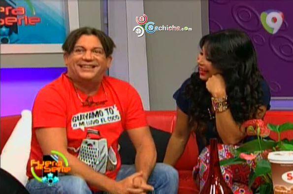 Entrevista A Kenny Grullón Con Melissa Guzmán En Fuera De Serie