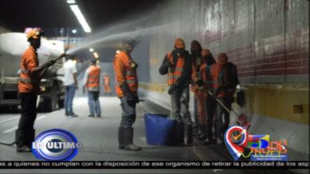 MOPC Cerrará Túneles Y Pasos Elevados En Horario Nocturno Para Limpieza Y Mantenimiento Rutinario