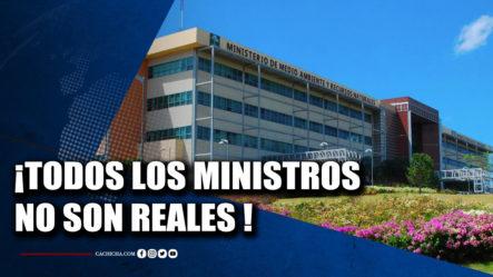 Los Ministros No Son Personas 100% Reales