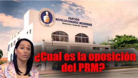 ¿Cuál Es La Oposición Del PRM?