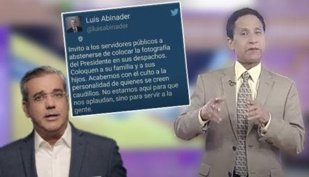 El Pedido De Luis Abinader A Los Servidores Públicos