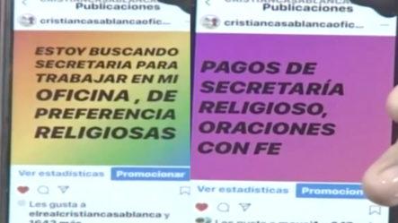 """Cristian Casablanca Afirma Que Va A Pagar A Sus Empleadas Los 15 Y 30 Con """"rezos Y Oraciones"""""""