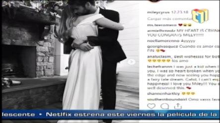 Miley Cyrus Y Liam Hemsworth Se Casan En Secreto En Tennessee