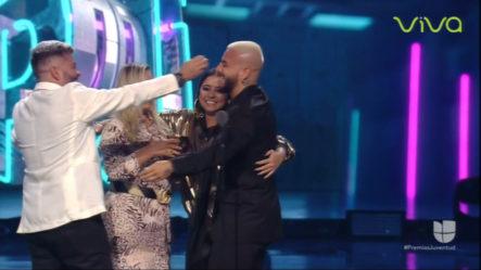 """Reconocimiento Especial A Maluma Como """"Agente De Cambio"""" En Premios Juventud"""