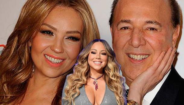 Tommy Mottola le envía un amoroso mensaje a su ex Mariah Carey y Thalía reacciona