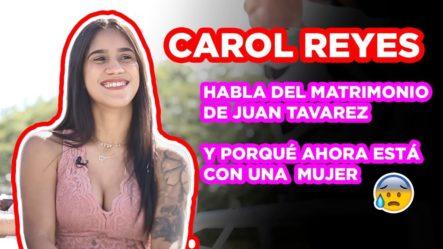 CAROL REYES DICE QUE SANTIAGO MATÍAS LE HA TIRADO DM PICANTES