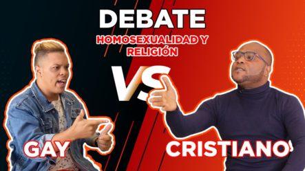 PASTOR CRISTIANO VS. GAY (DEBATE INTENSO DE HOMOSEXUALIDAD)