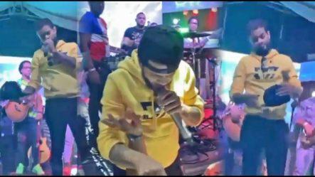 Video Donde Don Miguelo Le Da Una Galleta Sin Mano Al DJ Del Alfa Y Le Manda Fuerte Mensaje Al Alfa