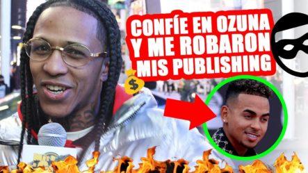 Goldy Boy Dice Que Por Confiar En Ozuna Le Robaron El Dinero De Los Publishing