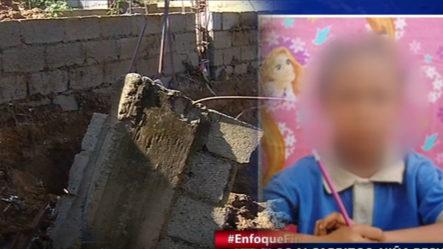 En Los Alcarrizos, Niña Resulta Muerta Y Su Padrastro Herido Al Colapsar Pared
