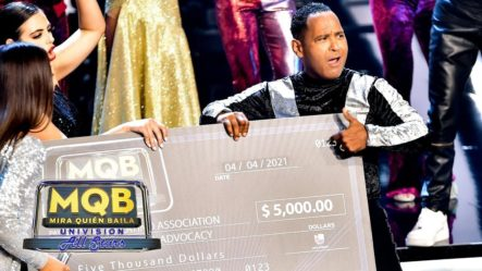 "Momento En Que Eliminan A Tony Dandrades De ""Mira Quién Baila Univision All Stars"""